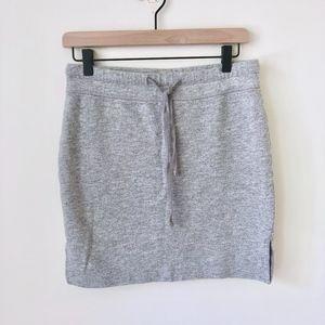James Perse gray skirt